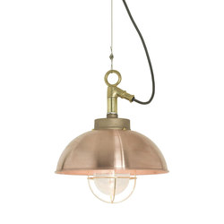 7222 Shipyard Pendant, Copper, Clear Glass | Illuminazione generale | Davey Lighting Limited