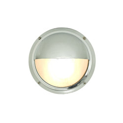 7225 Brass Bulkhead With Eyelid Shield, Chrome Plated | General lighting | Davey Lighting Limited
