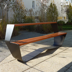 Karma picnic table | Tables and benches | Concept Urbain