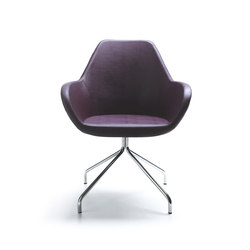 Fan 10H | Visitors chairs / Side chairs | PROFIM