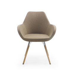 Fan 10HW | Visitors chairs / Side chairs | PROFIM