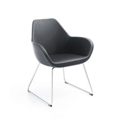 Fan 10V | Visitors chairs / Side chairs | PROFIM