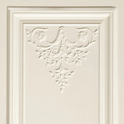 Ottocento Italiano panel white | Wandfliesen | Petracer's Ceramics