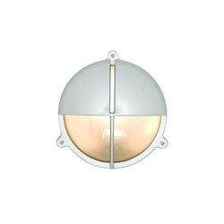 7427 Brass Bulkhead With Eyelid Shield, Large, Chrome Plated | General lighting | Davey Lighting Limited