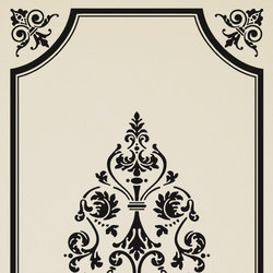 Ad Personam arabesque nero | Azulejos de pared | Petracer's Ceramics
