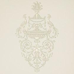 Ad Personam petites paonnes madreperla | Ceramic tiles | Petracer's Ceramics