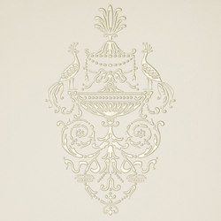 Ad Personam petites paonnes madreperla | Wall tiles | Petracer's Ceramics