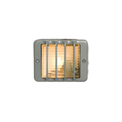 7576 Guarded Step Light, E14, Painted Grey | Allgemeinbeleuchtung | Davey Lighting Limited