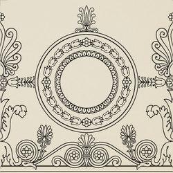 Ad Personam rondelle nero | Carrelage céramique | Petracer's Ceramics