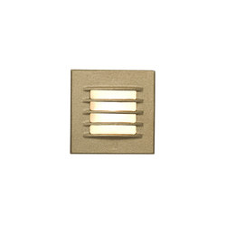 7600 Low Voltage Recessed Step Light, Bead Blasted Bronze | General lighting | Davey Lighting Limited