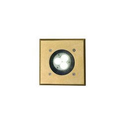 7602 Recessed Uplight, Brass, GU10 | Allgemeinbeleuchtung | Davey Lighting Limited