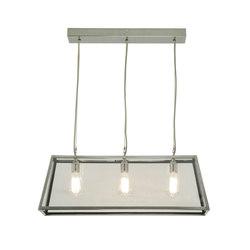 7632 Diner, Internally Glazed, 75, Satin Nickel, Clear Glass | General lighting | Original BTC Limited