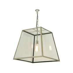 7636 Quad Pendant, Internal Glass, Large, Polished Nickel, Clear Glass | Iluminación general | Davey Lighting Limited