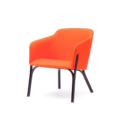 Split Lounge armchair | Lounge chairs | TON