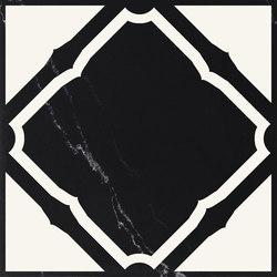Carisma Italiano Origami nero marquinia assoluto | Floor tiles | Petracer's Ceramics