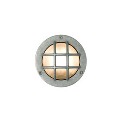 8038 Miniature Exterior Bulkhead, Cross Guard, G9, Aluminium | Allgemeinbeleuchtung | Davey Lighting Limited