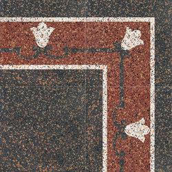 Carnevale Veneziano Brighella | Floor tiles | Petracer's Ceramics