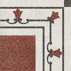 Carnevale Veneziano Brighella | Carrelage pour sol | Petracer's Ceramics