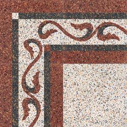 Carnevale Veneziano Gianduia | Bodenfliesen | Petracer's Ceramics