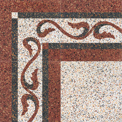 Carnevale Veneziano Gianduia | Floor tiles | Petracer's Ceramics