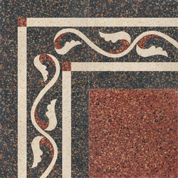 Carnevale Veneziano Gianduia | Floor tiles | Petracer's Ceramics