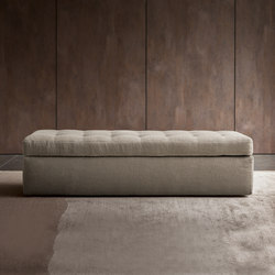 Iko bench | Upholstered benches | Flou