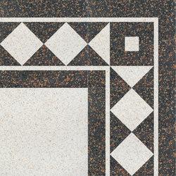 Carnevale Veneziano Smeraldina | Ceramic tiles | Petracer's Ceramics