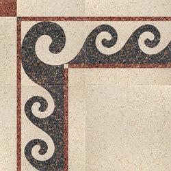 Carnevale Veneziano Pulcinella | Piastrelle/mattonelle per pavimenti | Petracer's Ceramics