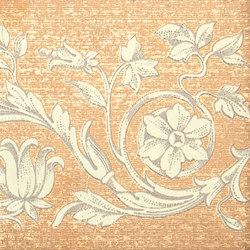 Grand Elegance gemelli con cornucopia su crema B | Baldosas de cerámica | Petracer's Ceramics