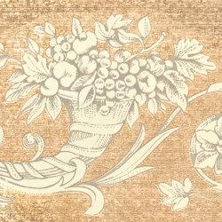 Grand Elegance gemelli con cornucopia su crema C | Keramik Fliesen | Petracer's Ceramics