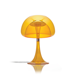 Table lamps in plastic high quality designer table lamps in aurelia table orange general lighting qisdesign aloadofball Choice Image