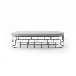 Riviera | Waiting area benches | Flexform Mood