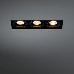 Mini multiple trimless 3x MR16 GE | Recessed ceiling lights | Modular Lighting Instruments