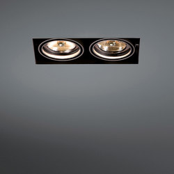 Mini multiple trimless 2x AR70 GE | Lampade spot | Modular Lighting Instruments