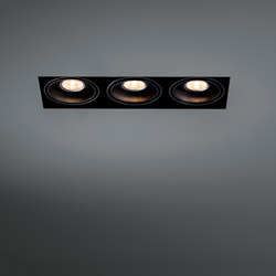 Mini multiple trimless 3x LED retrofit | Lampade spot | Modular Lighting Instruments