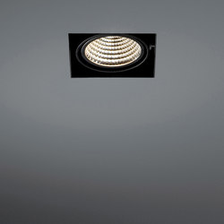 Mini multiple trimless 1x LED 1-10V/Pushdim RG | Lampade spot | Modular Lighting Instruments