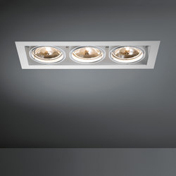 Multiple 3x AR111 GE | Strahler | Modular Lighting Instruments