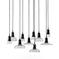Shadows Set Rectangular Large Canopy PC921 | Suspended lights | Brokis