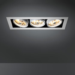 Multiple 3x CDM-R111 GE | Strahler | Modular Lighting Instruments