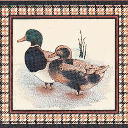 Grand Elegance country life canard A | Ceramic tiles | Petracer's Ceramics