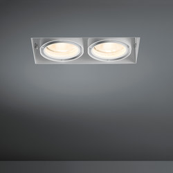 Multiple trimless 2x CDM-T GE | Spotlights | Modular Lighting Instruments
