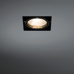 Multiple trimless 1x CDM-T GE | Plafonniers encastrés | Modular Lighting Instruments