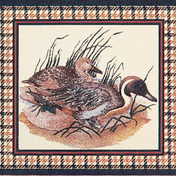 Grand Elegance country life canard B | Ceramic tiles | Petracer's Ceramics