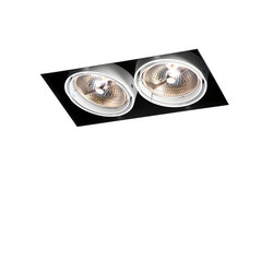 Multiple trimless 2x AR111 GE | Strahler | Modular Lighting Instruments