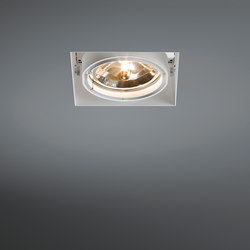 Multiple trimless 1x AR111 GE | Lampade soffitto incasso | Modular Lighting Instruments