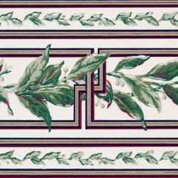 Grand Elegance fleures ficus su panna | Baldosas | Petracer's Ceramics