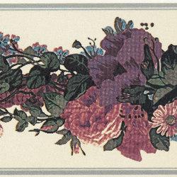 Grand Elegance fleures garland su crema A | Carrelage céramique | Petracer's Ceramics