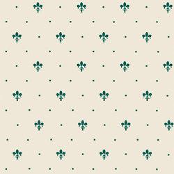 Grand Elegance giglio verde su panna | Ceramic tiles | Petracer's Ceramics
