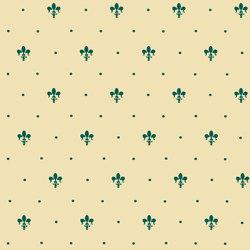 Grand Elegance giglio verde su crema | Carrelage céramique | Petracer's Ceramics