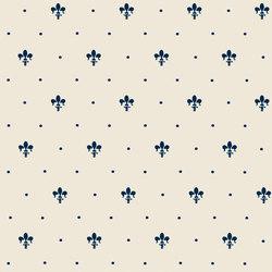 Grand Elegance giglio blu su panna | Carrelage céramique | Petracer's Ceramics